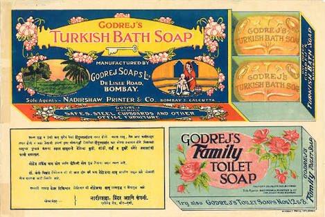Old advertisements foe Godrej soups