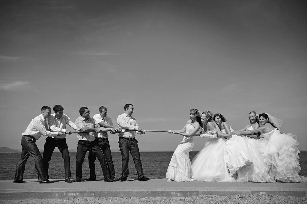 after wedding scenes
