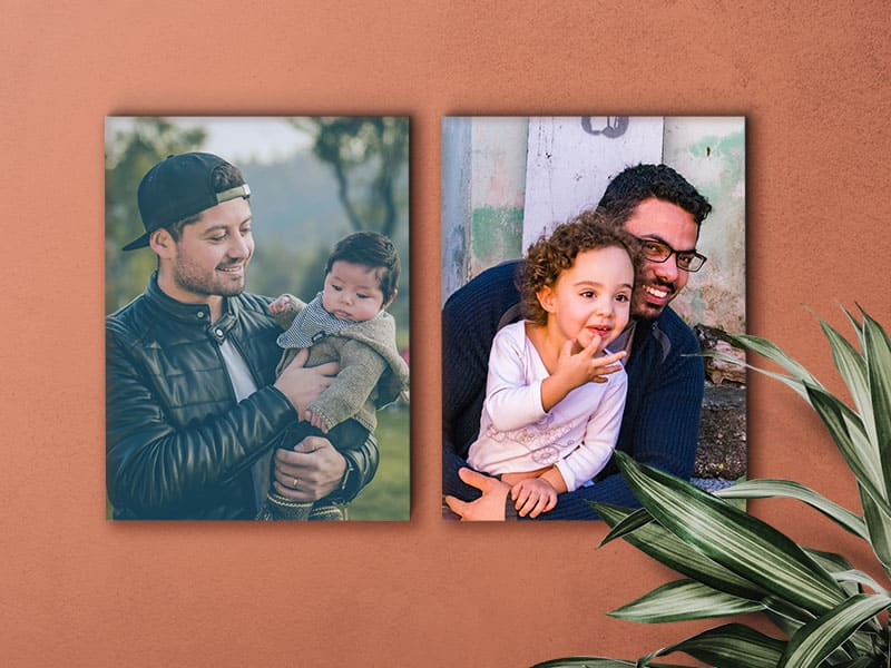 Father's Day Canvas print gift