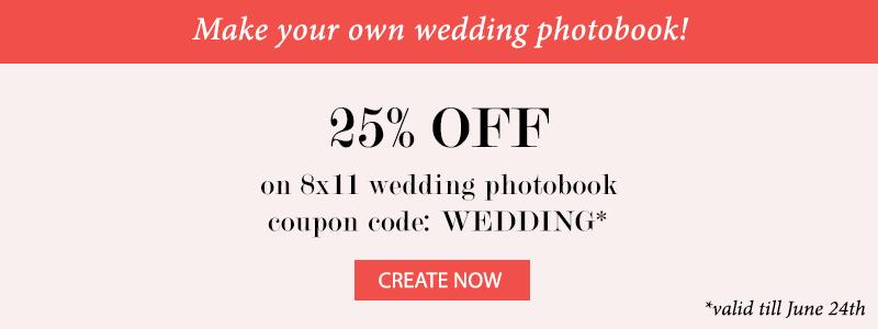 Wedding Album Discount Code 1 - Photojaanic
