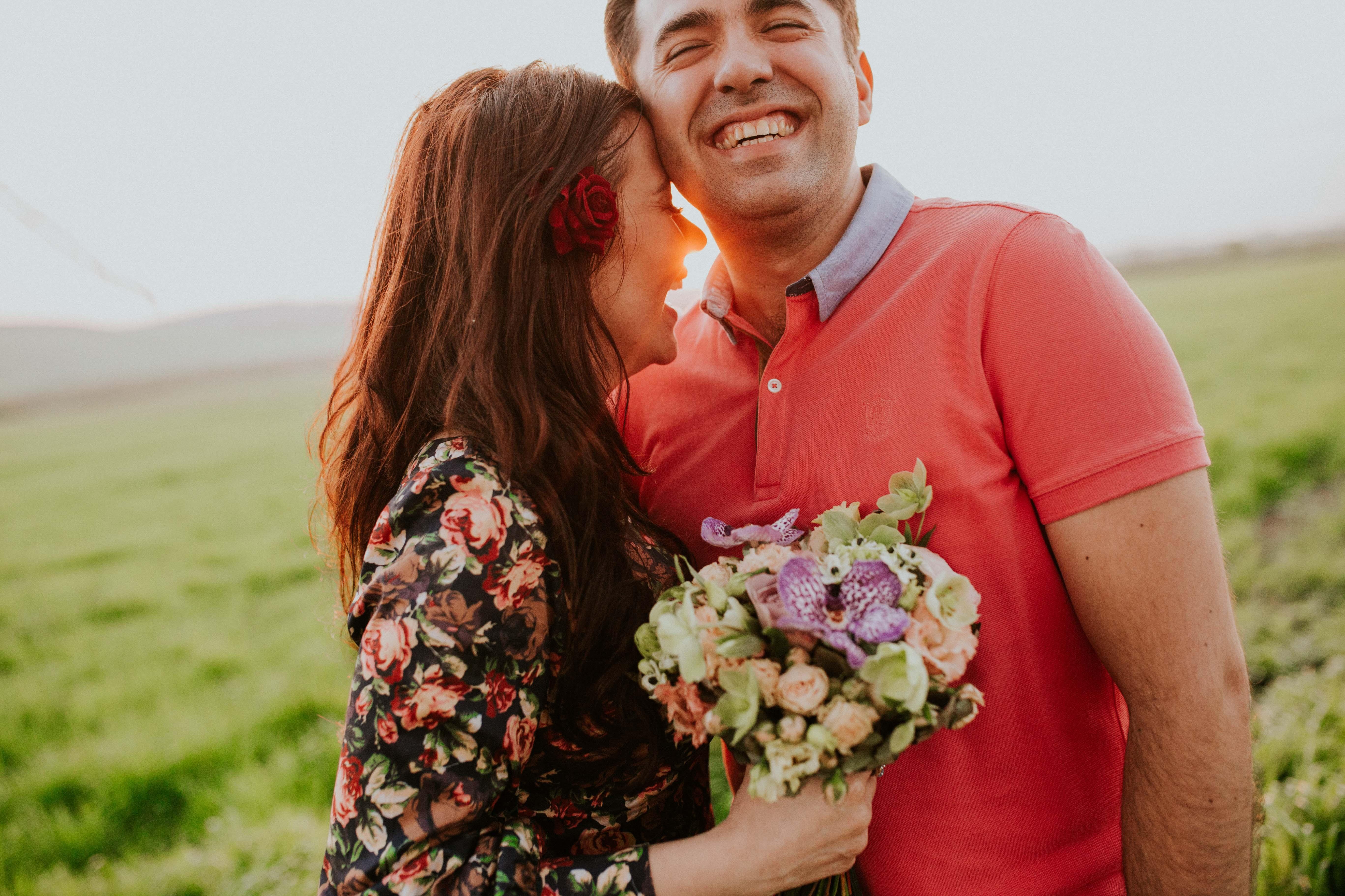 couple happy moments