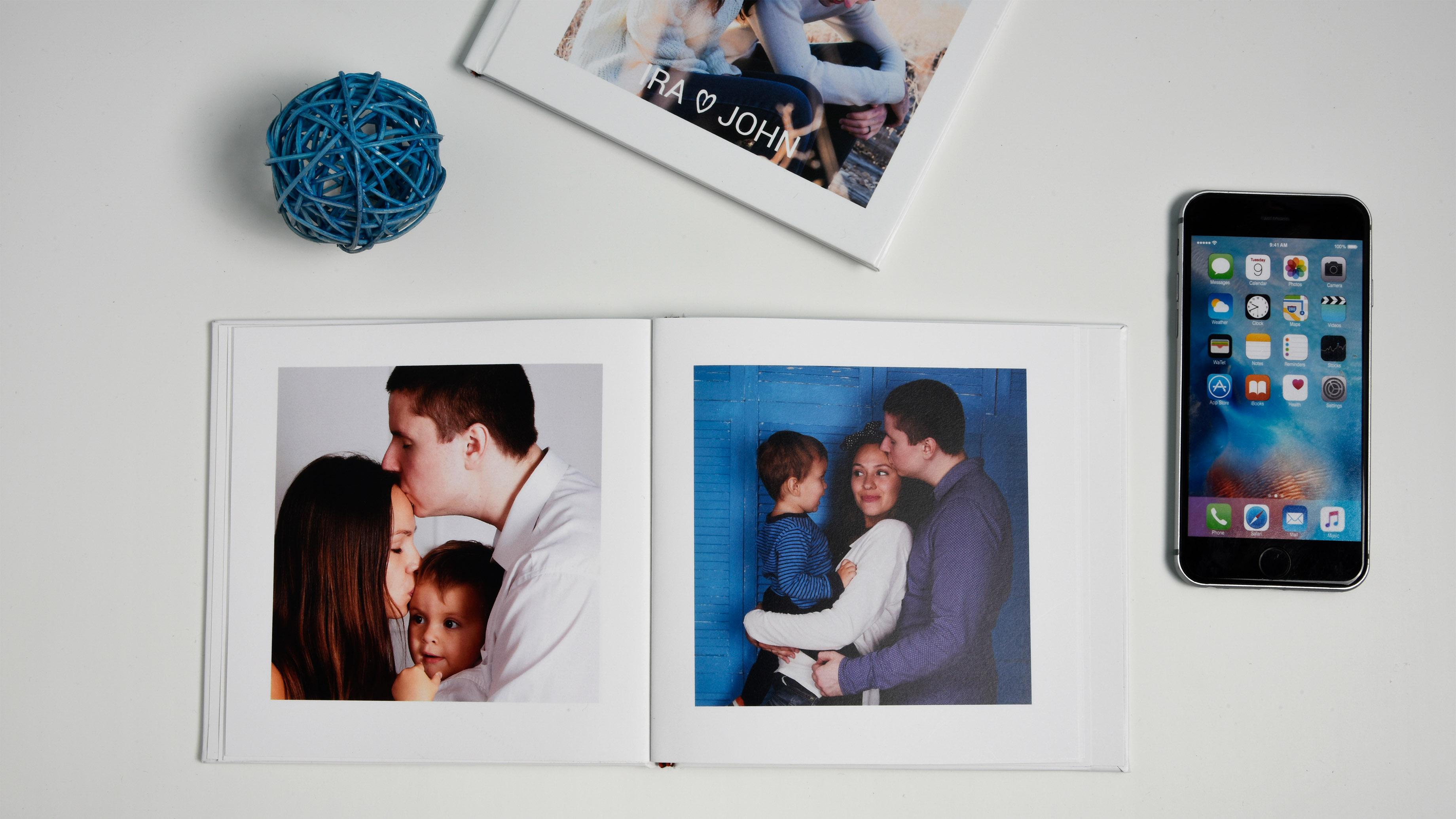 Create family photobooks