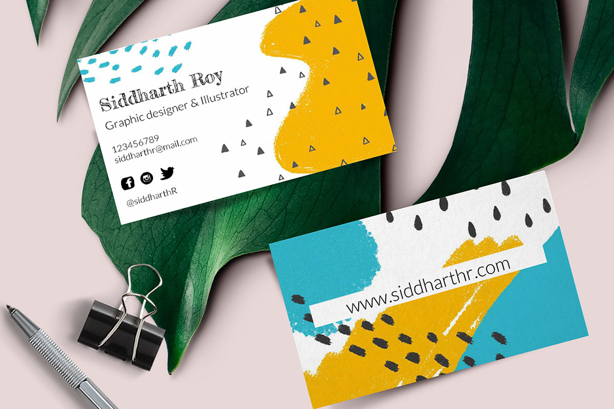 3 Ideas to Create Stunning Business Card Design  Photojaanic