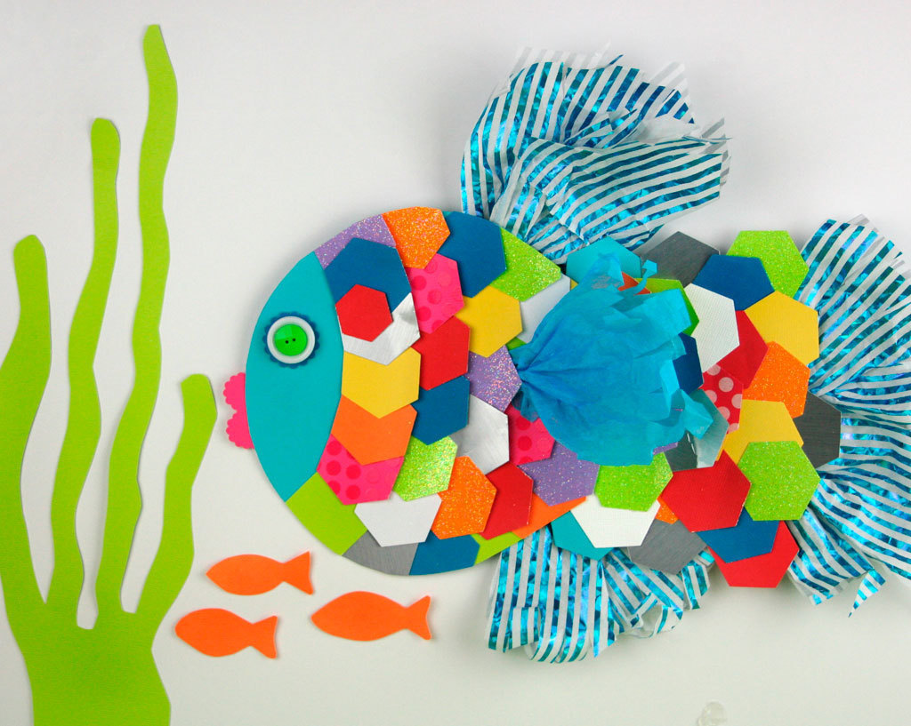 Arts And Craft Ideas For Kids Part - 27: Animal Paper Crafts With Scraps