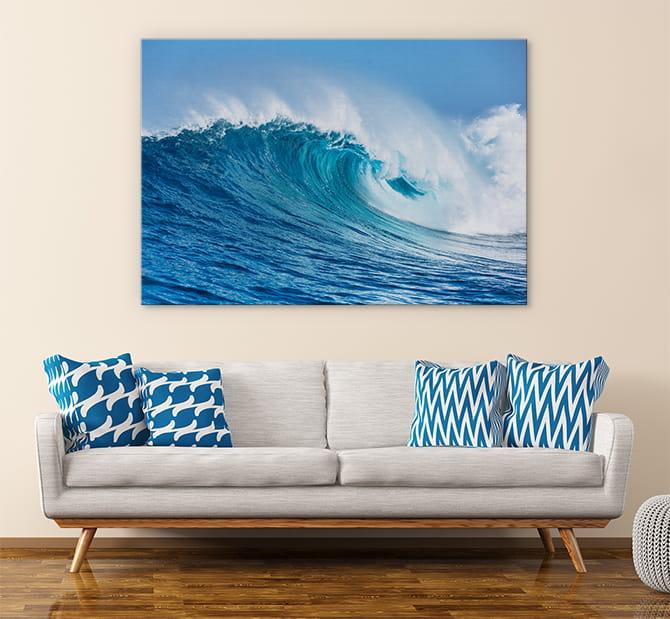 easy DIY wall decor ideas - statement print