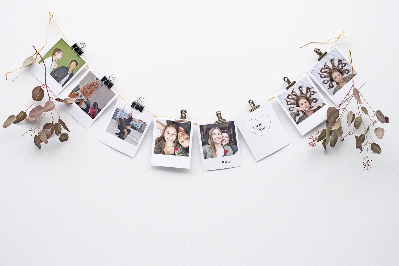 easy DIY wall decor ideas - photo garland