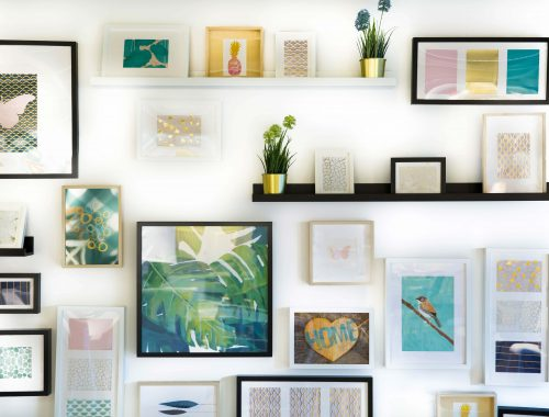 easy DIY wall decor ideas