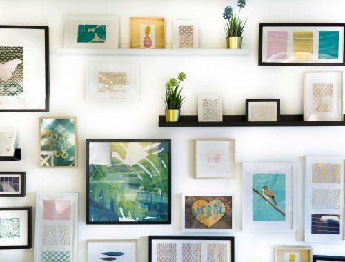easy DIY wall decor ideas