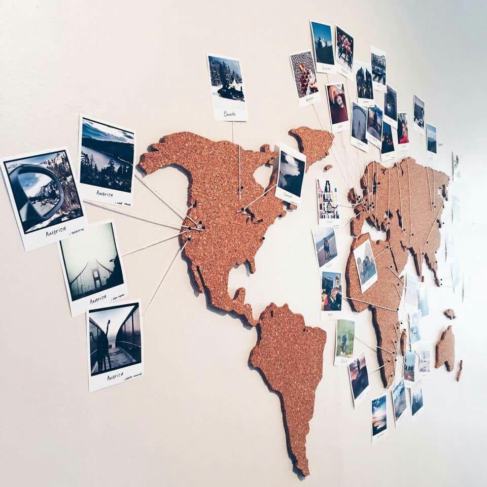create retro prints for map ideas