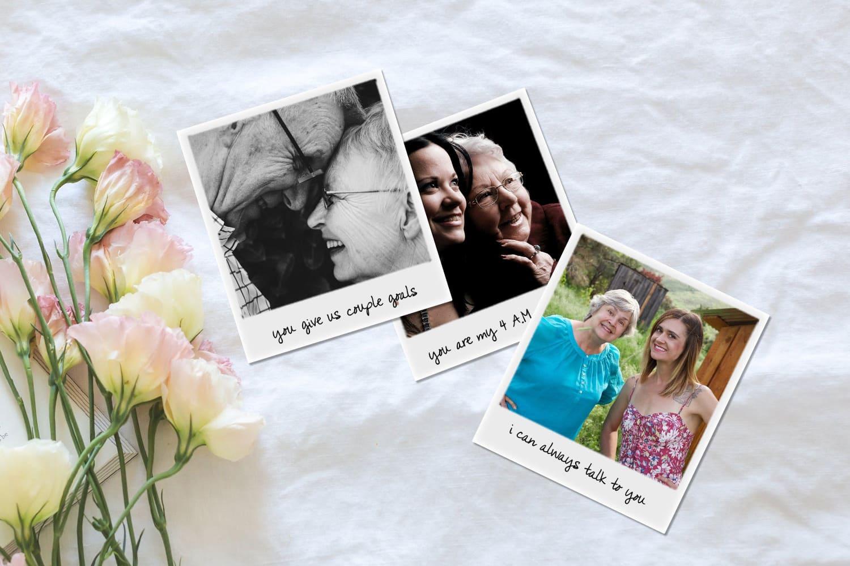 Print retro photos online