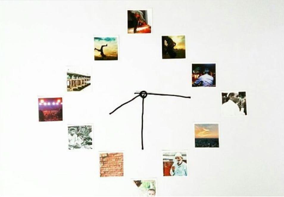 Retro wall clock ideas