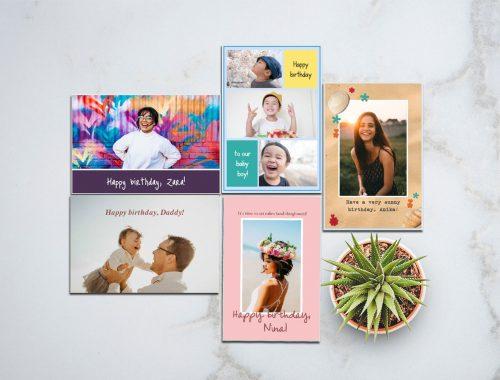 DIY birthday cards - ideas and tips (101)