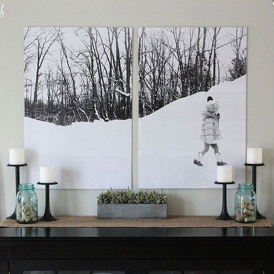 Wall Photo Split Ideas