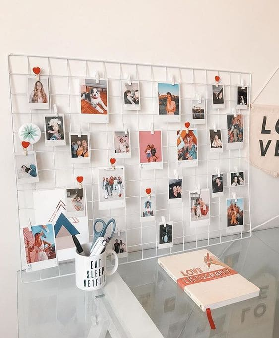Grid Hanging Prints