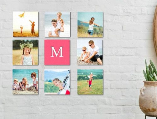 Easy Photo Wall Ideas
