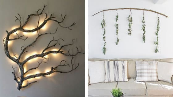 Nature Wall Hanging ideas