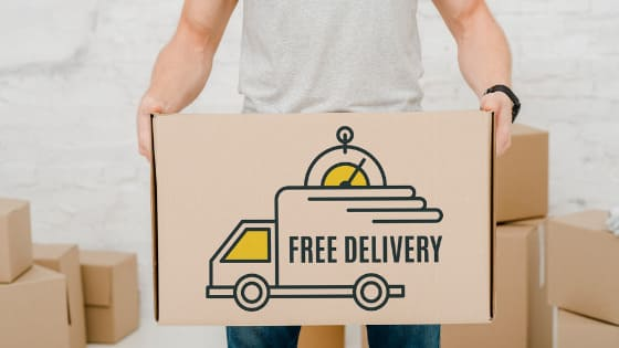 Free delivery in India