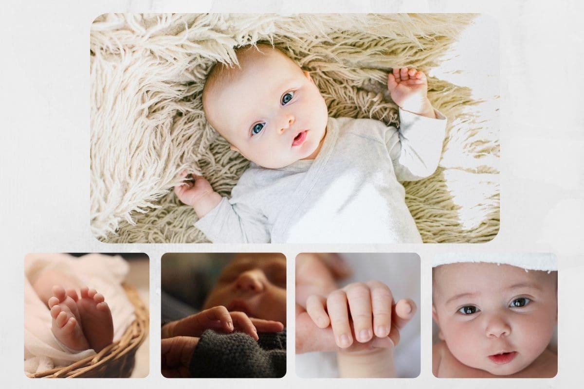 Baby photo designs