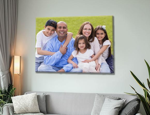 print image on canvas