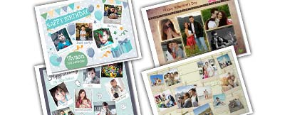 photo collage posters