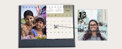 Desk calendars online