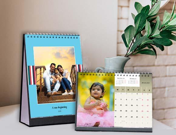 Personalized Desktop Calendars