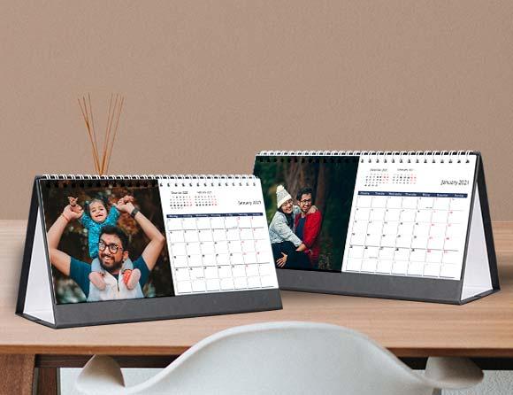 gift photo desk calendars