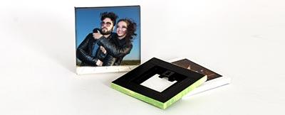 mounted photo prints
