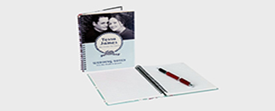 personalized photo notebooks