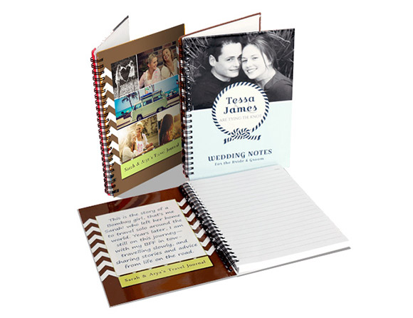 photo notebooks that is customized