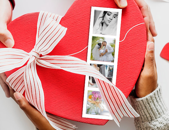 photo bookmark strips