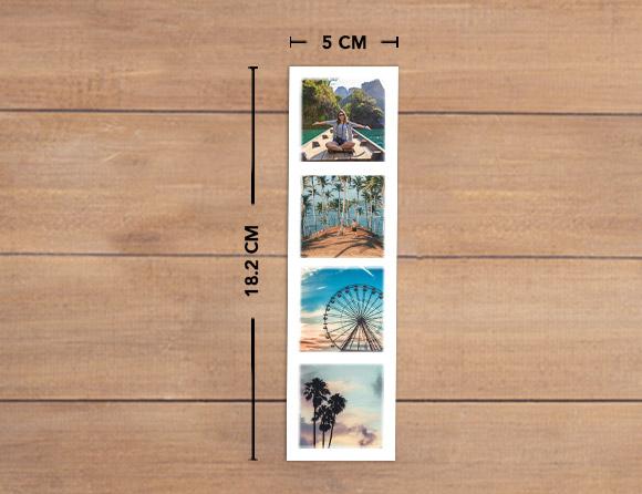 creative photo bookmark strips