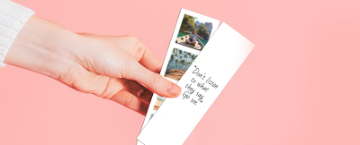 personalized photo strips