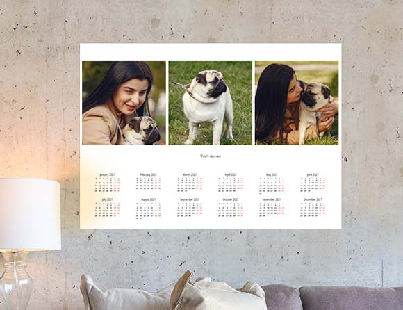 mark the important days on wall poster calendars