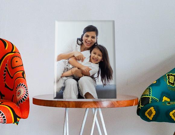 bedside table photo frame