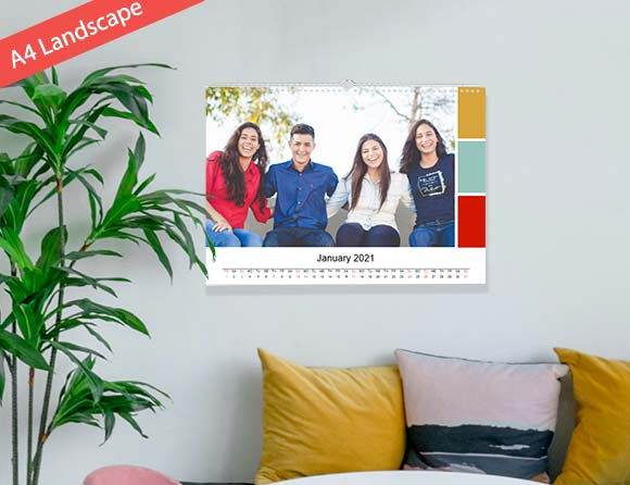 make memories on photo wall calendars