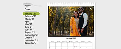 wall calendars online