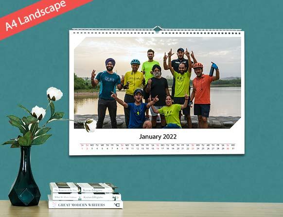 make memories on photo wall calendars