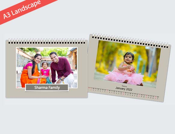 personalize your dates and photos on wakk photo calendars